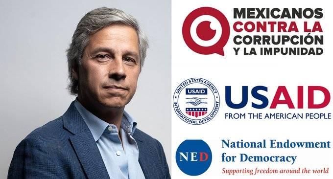 USAID financió con 250 mil dólares a Claudio X. González
