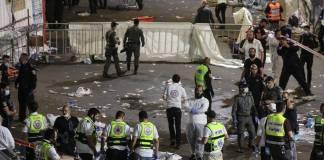 Estampida durante evento religioso en Israel deja decenas de fallecidos