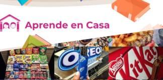 """Publicidad de comida chatarra inundan plataforma """"Aprende en Casa"""""""