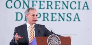 México lleva 10 semanas de disminución de casos Covid: Gatell