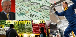 AMLO presume que mejoran comercio, empleo y PIB