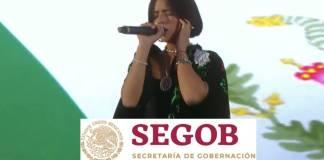 Ángela Aguilar no será sancionada por Segob por su interpretación del Himno Nacional