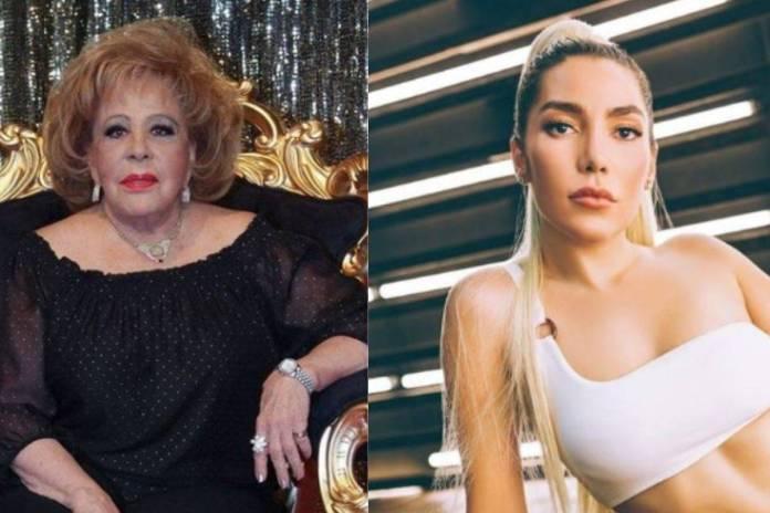 Silvia Pinal da la espalda a Frida Sofia y esta reacciona ante las declaraciones de la primera actriz