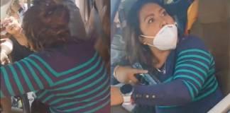 Denuncian a presunta policía de Edomex amenazando con un arma; la apodan #LadyPistola