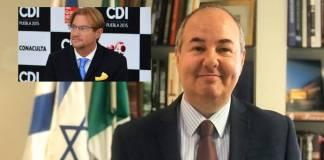 Difundiría embajador de Israel los abusos de Andrés Roemer