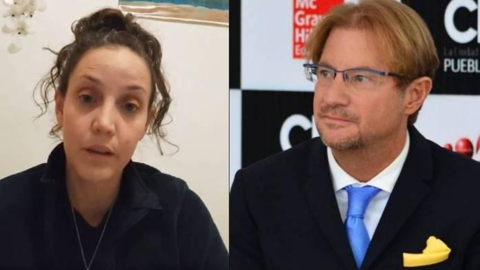 Mariana Peñalva acusó a Andrés Roemer de violación