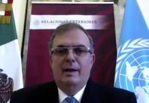 México aboga por una reforma integral al Consejo de Seguridad de la ONU: Ebrard