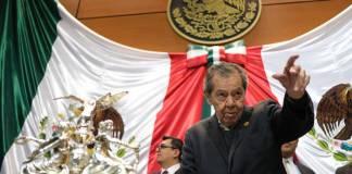 """Muñoz Ledo se queda sin """"hueso"""" y despotrica contra AMLO"""