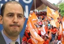 Guerra de acusaciones entre Marko Cortés y Movimiento Ciudadano