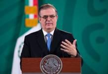 Apertura de frontera con EU podría ser en verano: Ebrard
