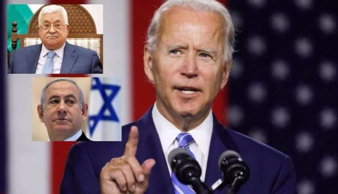 Biden realiza llamadas con su homólogo palestino y el primer ministro de Israel
