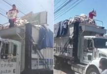 Detienen camión en Durango con despensas del PRIANRD