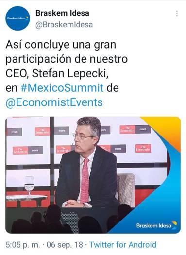 2 - La agenda de Claudio X. González, The Economist y Salinas
