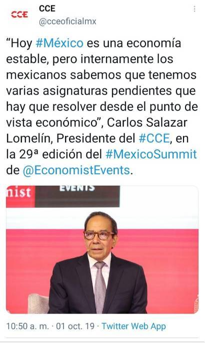 7 - La agenda de Claudio X. González, The Economist y Salinas