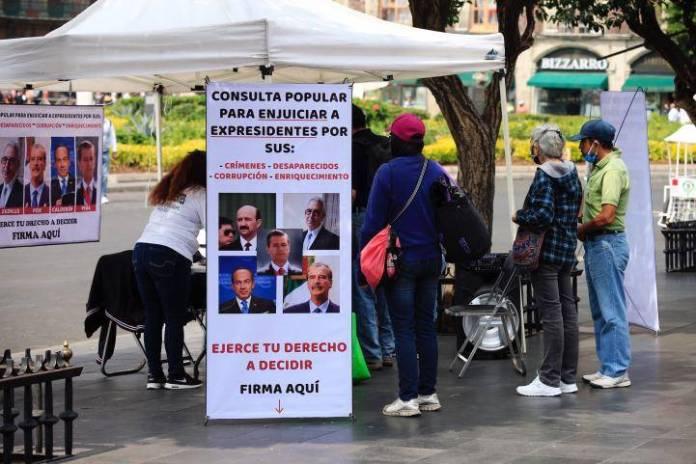 INE aprueba boleta para juzgar a expresidentes