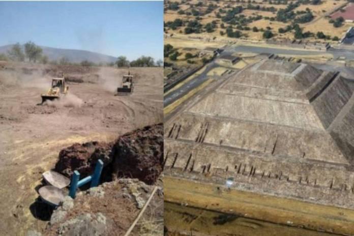 FGR decomisa terreno en Teotihuacan por construcción ilegal