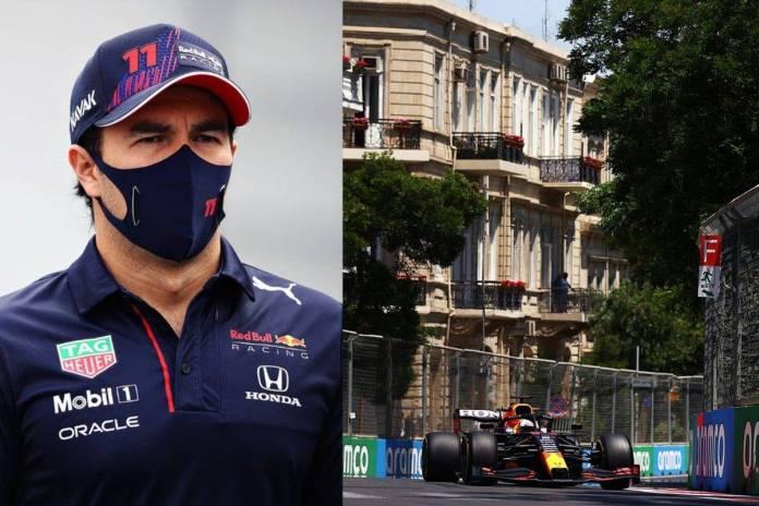 Checo Pérez consigue el primer lugar en la segunda carrera de practica del GP de Azerbaiyán