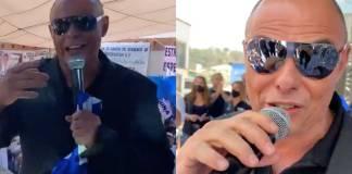Claudio Yarto de Caló rapea contra Morena en evento de PRIANRD