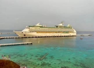 Arriba a Cozumel el primer crucero tras cierre por la pandemia