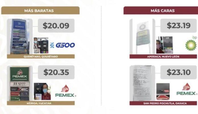 IMG 3338 e1623072935379 - La gasolina más barata se vende en Querétaro y la más cara en Nuevo León: Profeco