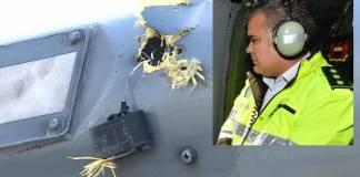 Disparan al helicóptero en que viajaba presidente de Colombia