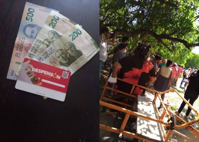 Siguen las malas mañas priistas; regalan despensas en Campeche