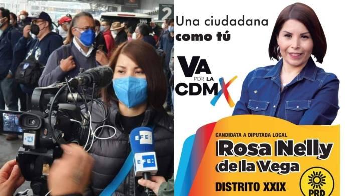 Candidata a diputada local encabeza manifestación de niños con cáncer vs el gobierno