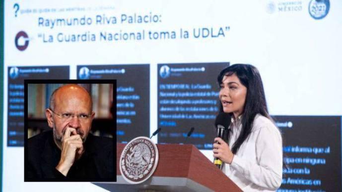 """Responde Riva Palacio, """"el Pinocho de la Semana"""""""