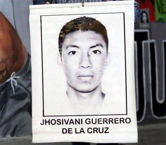 Identifica vértebra de Jhosivani, otro normalista de los 43 de Ayotzinapa