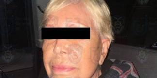 Por robo y extorsión cae en la cárcel Alejandra Barrios