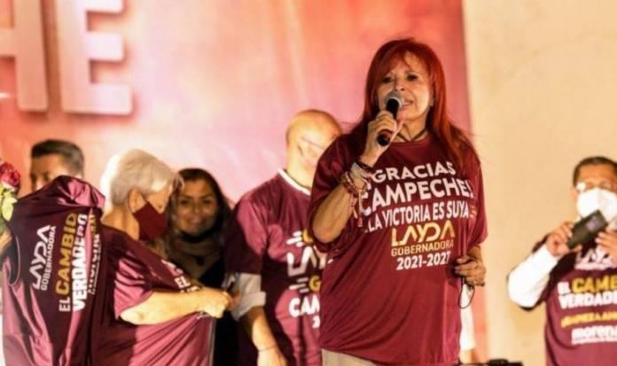 Layda Sansores gana y le quita gobierno de Campeche a sobrino de Alito Moreno