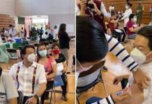 Mario Delgado recibe vacuna contra la COVID-19