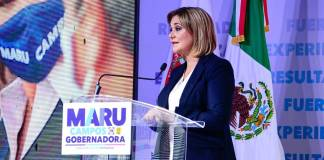 Morena denuncia que Maru Campos rebaso el tope de gastos de campaña