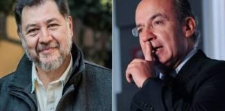 El vicecoordinador del PT en la Cámara de Diputados, Gerardo Fernández Noroña espera que Calderón supere la Covid-19 para que vaya a la cárcel.