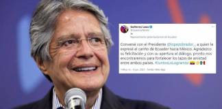 Presidente de Ecuador dialoga con AMLO; anuncian próxima reunión