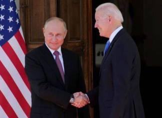 Siempre es mejor verse cara a cara; dice Biden a Putin en cumbre de Ginebra