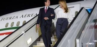 Peña Nieto gastó durante su último viaje en el avión presidencial 7 mdp en internet