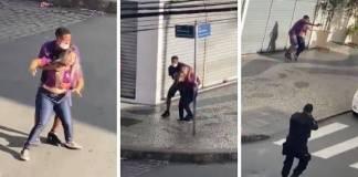 Policías matan a ladrón que tenía a una joven como rehén