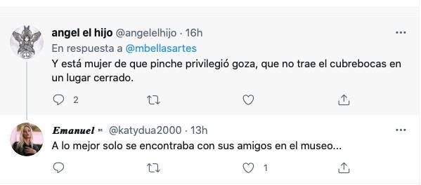 Captura de Pantalla 2021 07 20 a las 13.43.42 - Museo de Bellas Artes se promociona con visita de Dua Lipa; usuarios critican a la cantante de copiona