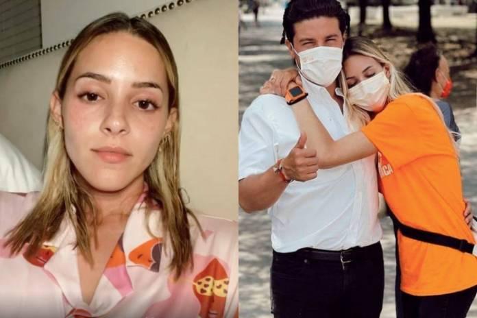 Mariana Rodríguez califica de ofensiva la multa del INE contra su esposo Samuel García