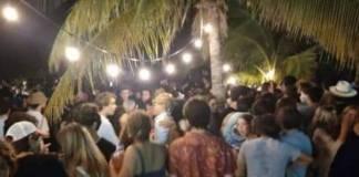 ¡Se les acabó la fiesta! Clausuran reunión con cientos de personas en playa de Yucatán