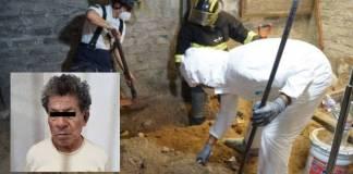 Encuentran más de 4 mil restos óseos en la casa del feminicida de Atizapán