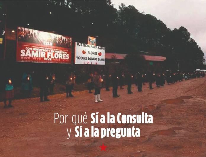 """EZLN pide participar en consulta popular y votar por el """"sí"""""""