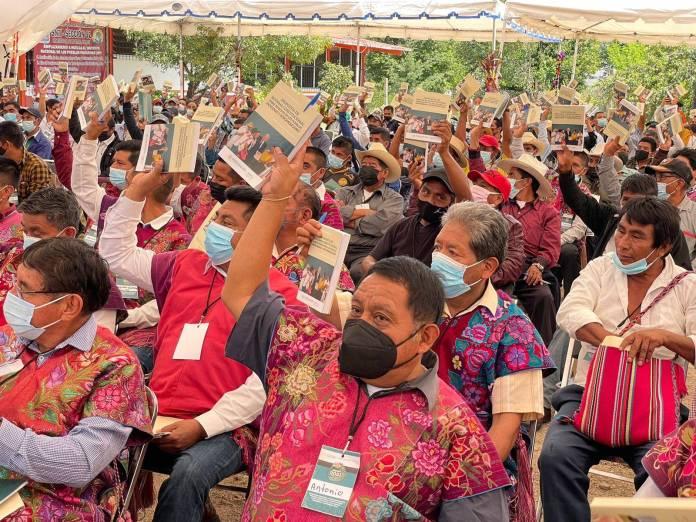 WhatsApp Image 2021 07 26 at 4.44.29 PM - Apoyan la Reforma Indígena más de 20 mil autoridades municipales y comunitarias