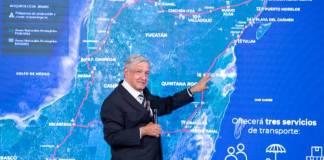 El Tren Maya llevará el desarrollo al sureste, antes no les importaba: AMLO