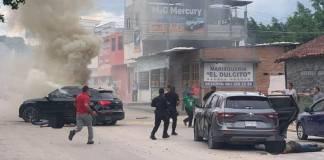 Se registra balacera en Tuxtla Gutiérrez; hay 6 personas fallecidas