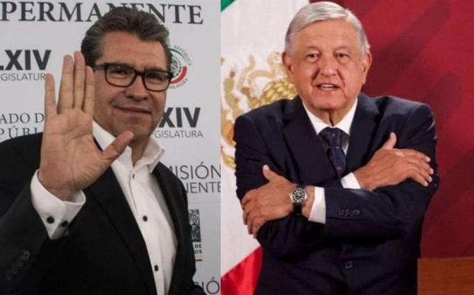 Monreal quiere imponer pregunta vs AMLO para la revocación de mandato