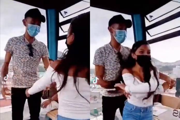 Video: Pareja arma bailongo durante recorrido en el Cablebús de CDMX