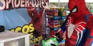 Spiderman llega a Durango para vender spiderlotes