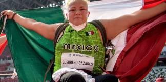 María Guerrero gana la segunda medalla para México en los Juegos Paralímpicos